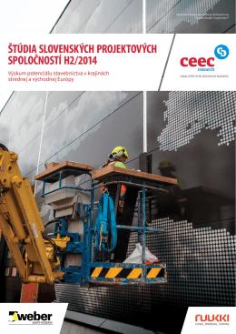 Štúdia slovenských projektových spoločností H2.2014