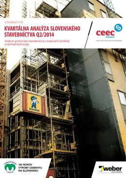 Kvartálna analýza slovenského stavebníctva Q2