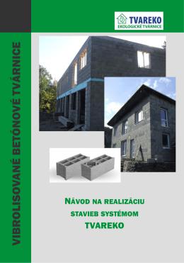 Návod na realizáciu stavieb