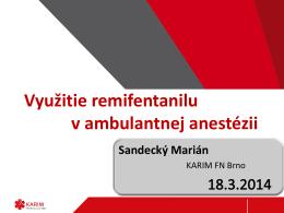 Ambulantná anestézia