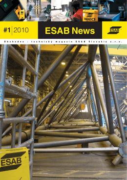 ESAB News 1/2010