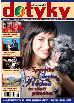 Slovenské dotyky 09 (PDF - 5,7MB)