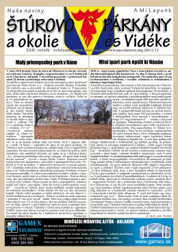 2011/11 - Mesto Štúrovo