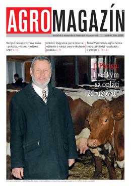 Ing. Ján Paciga, PhD. predseda Agria L. Ondrej a.s
