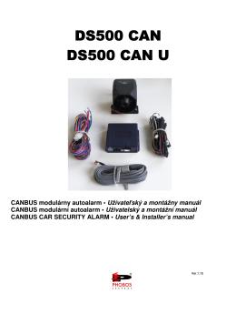 DS500 CAN_SK_CZ_EN_uzivatelsky_ v1.15