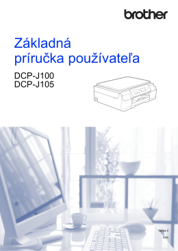 Základná príručka používateľa
