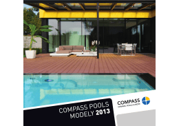 COMPASS POOLS MODELY 2013 - bazeny