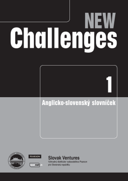 New Challenges 1 - Venturesbooks.sk
