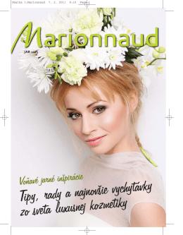 Obalka 1:Marionnaud.qxd