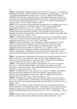 A) AAB01 (1,0) Biologické vlastnosti jarabiny