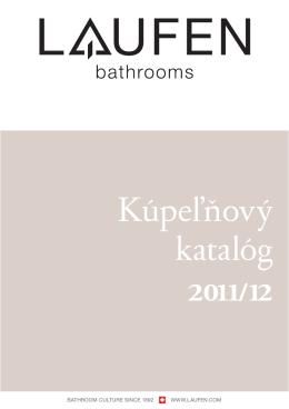 Katalóg LAUFEN 2011