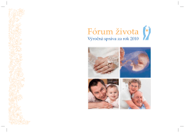 Výročná správa 2010 (SK) (pdf, 2 MB)