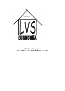 Školský vzdelávací program 2013-14 - Liečebno