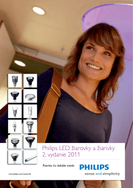 Philips LED žiarovky a žiarivky 2. vydanie 2011