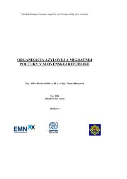 organizácia azylovej a migračnej politiky v slovenskej republike