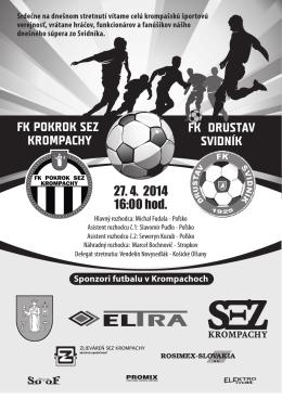 Svidnik - FK Pokrok SEZ Krompachy