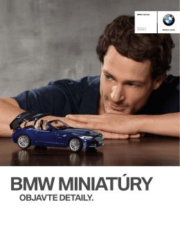BMW MINIATÚRY