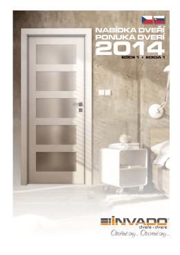 INVADO 2014 katalóg dverí
