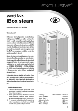 parný box iBox steam