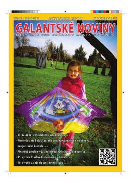 Prezentácia židovskej kultúry v Galante