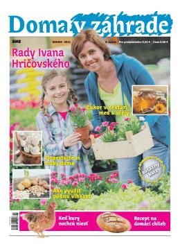 Marec 2014 - Doma v zahrade