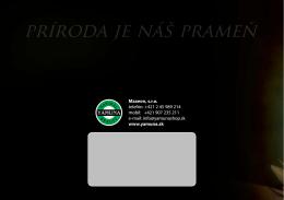 Maxeon, s.r.o. telefón: +421 2 45 989 214 mobil: +