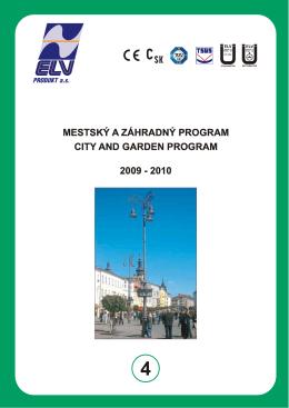 Mestský a záhradný program