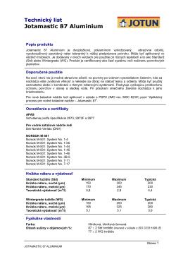 Jotamastic 87 Aluminium