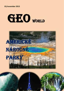 AMERICKé národné parky