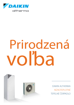 Altherma B2B leták 2013