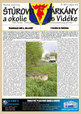 2011/04 - Mesto Štúrovo