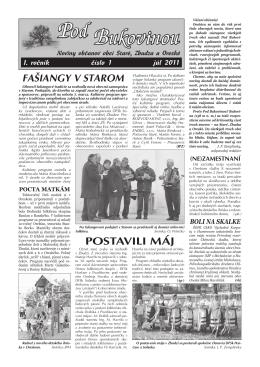 1/2011 - Obec Oreské