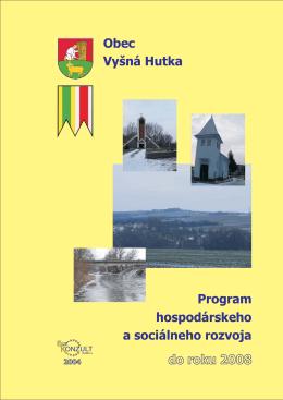 Program hospodárskeho a sociálneho rozvoja do roku 2008 Obec