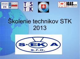 Školenie technikov STK 2013 - S