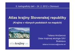 Atlas krajiny Slovenskej republiky