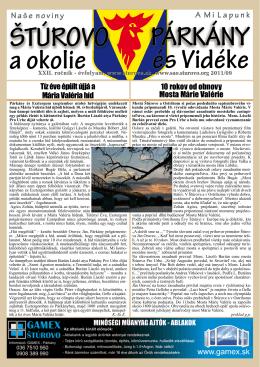 2011/9 - Mesto Štúrovo