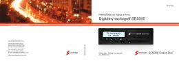 Časť pre vodiča - SE5000 Digital Tachograph from Stoneridge