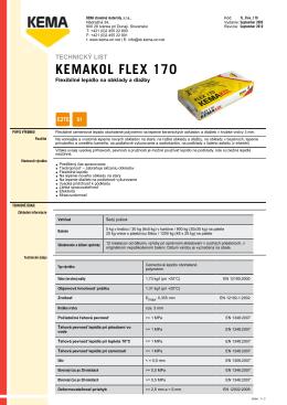 KEMAKOL FLEX 170