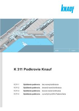 K 311 Knauf Podkrovie