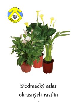 Siedmack okrasných rastlín Siedmacký atlas okrasných rastlín las