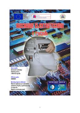 Mechanik elektrotechnik pre 1. ročník