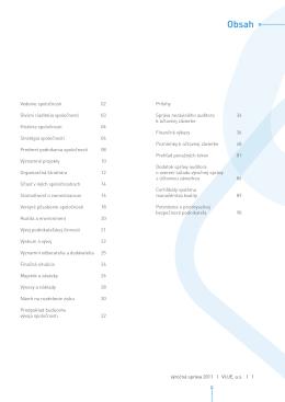 Výročná správa VUJE, a.s., 2011