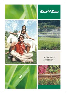 Brožúra Automatické zavlažovanie