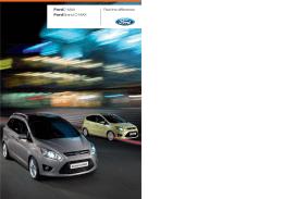 Brožúru Ford C-MAX z roku 2011 si môžte stiahnuť tu