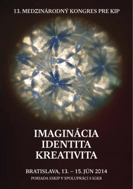 imaginácia identita kreativita - Slovenská psychoterapeutická