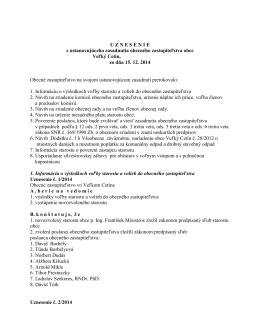 Uznesenie OZ (pdf)