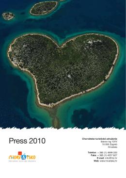 Press 2010 - Hrvatska turistička zajednica