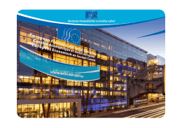EÚ - EESC European Economic and Social Committee