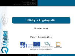 Krivky a kryptografie