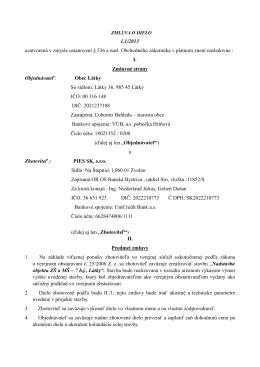 Zmluva -nadstavba ZŠ